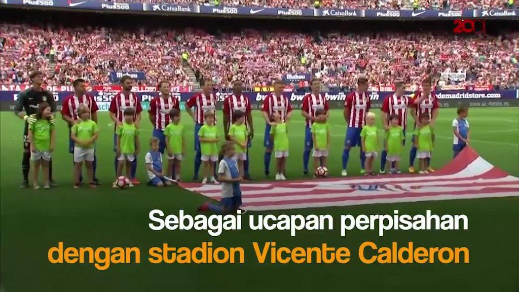 Atletico Madrid Berpisah dengan Vicente Calderon
