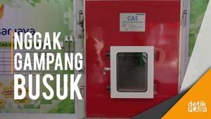 Jakarta Punya Mesin Canggih untuk Simpan Bahan Pangan
