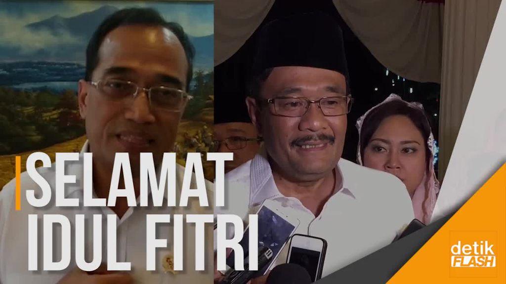 Harapan Menhub dan Gubernur DKI di Hari Lebaran