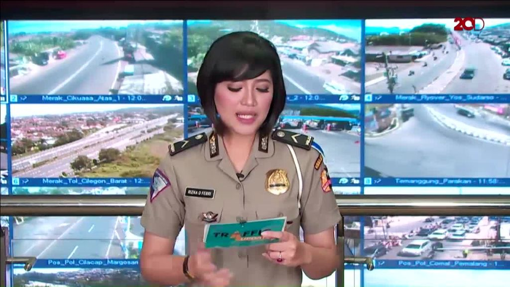 Traffic Update: Simpang Gadog Arah Puncak Macet
