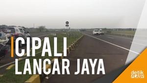 Ada Contraflow, Tol Cipali Arah Jakarta Lancar