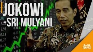 Ditemani Sri Mulyani, Jokowi Blusukan ke BEI