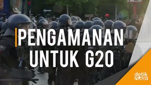 Penjagaan Super Ketat KTT G20 di Jerman
