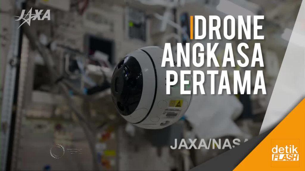 Int-Ball Merupakan Bola Kamera Drone Ruang Angkasa