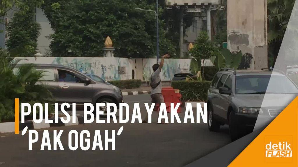 Akan Direkrut Polisi untuk Urai Macet, Apa Tanggapan Pak Ogah?