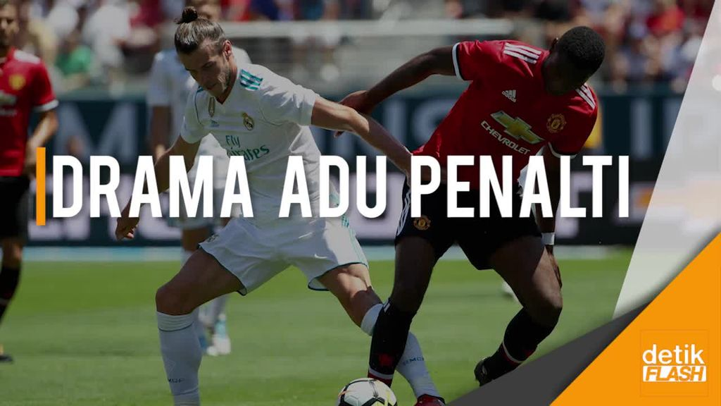 MU Menang Atas Real Madrid