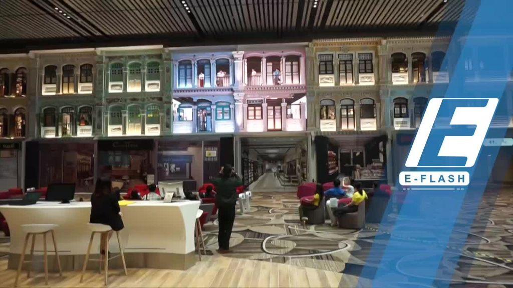 Super Keren! Terminal 4 Bandara Changi yang Baru