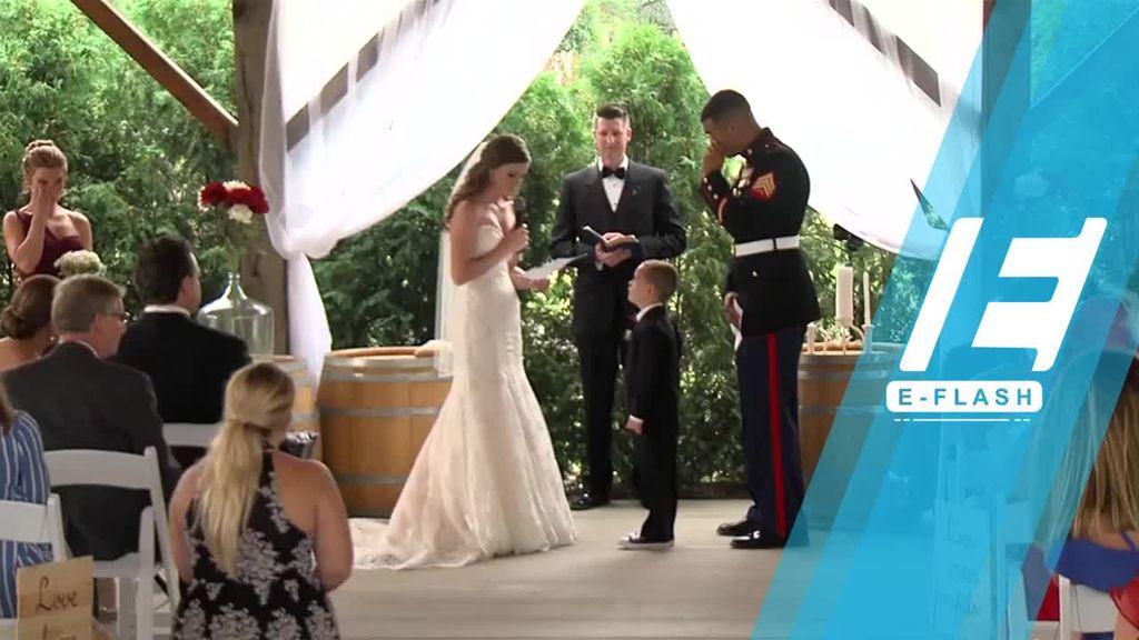 Menyentuh! Bocah 4 Tahun Menangis Saat Orangtuanya Menikah