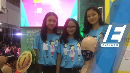 Karya Inspiratif Masker Alami di Loreal Girls in Science