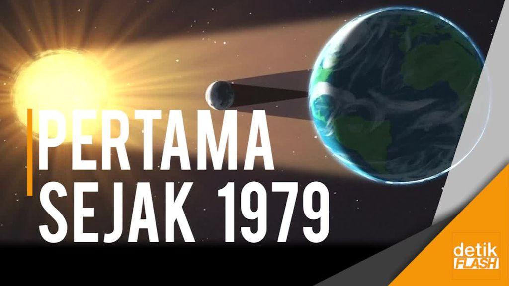 NASA Prediksi Gerhana Matahari Total Pada 21 Agustus
