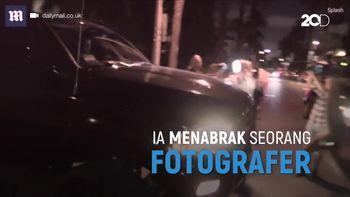 Justin Bieber Tabrak Fotografer