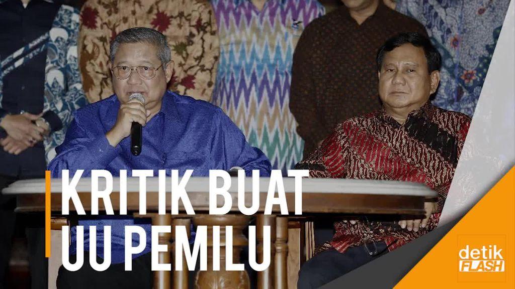 Prabowo: Presidential Threshold 20% Adalah Lelucon Politik