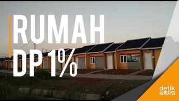 Rumah DP 1% yang Laris Manis