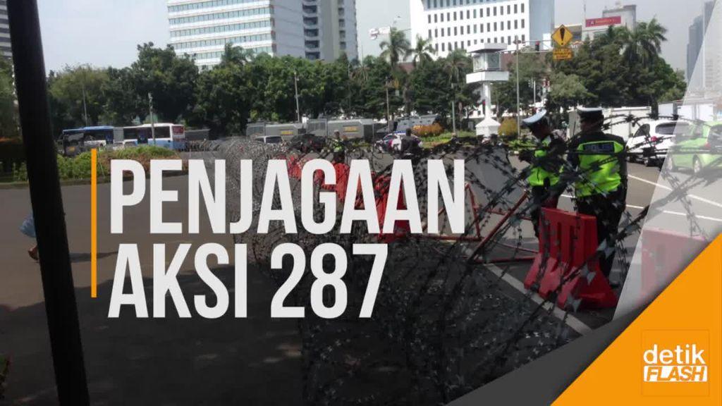 8.000 Personel Polisi Amankan Aksi 287