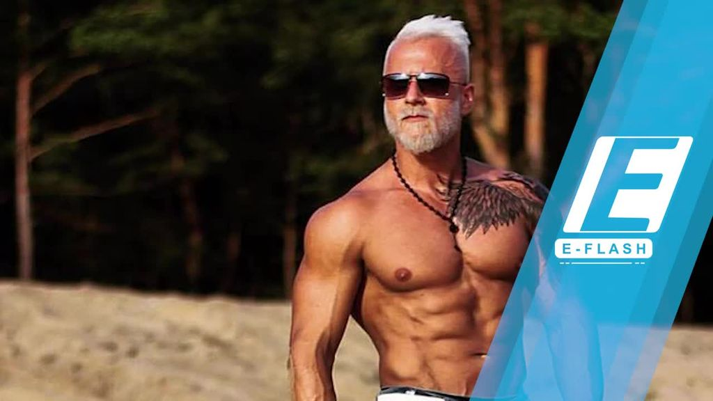 Gaya Unik Pria Macho Mirip Kakek-kakek Ini Viral!