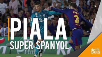 Madrid Bantai Barca di Leg Pertama
