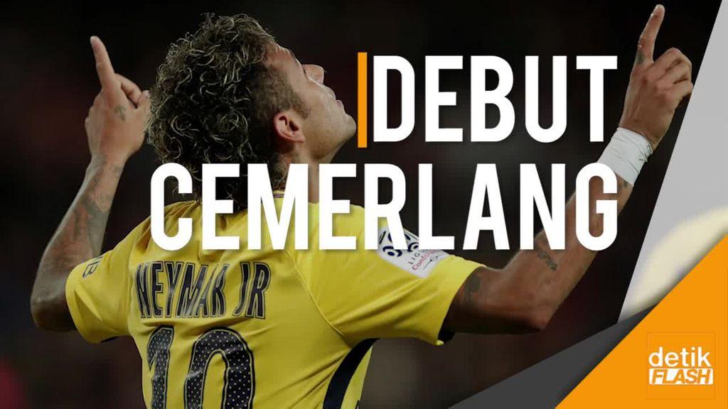 Debut Neymar Penuhi Harapan Publik Paris St Germain