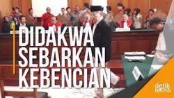 Terdakwa Ustaz Alfian Tanjung Jalani Sidang Perdana