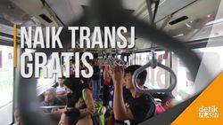 Asyik... 17 Agustus Bisa Naik Transjakarta Gratis!