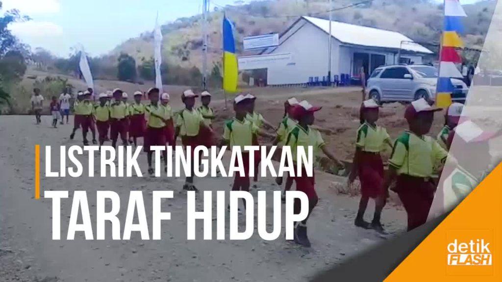 Desa di Perbatasan RI-Timor Leste Ini Sudah Nikmati Listrik 24 Jam