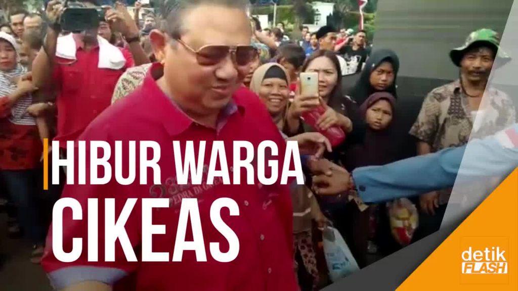 Bareng Kikan dan Candil, SBY Nyanyikan Rumah Kita