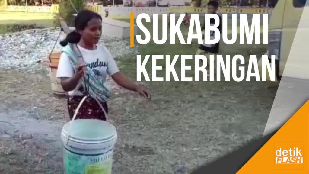 Tolong, 13 Kecamatan di Sukabumi Kesulitan Air Bersih