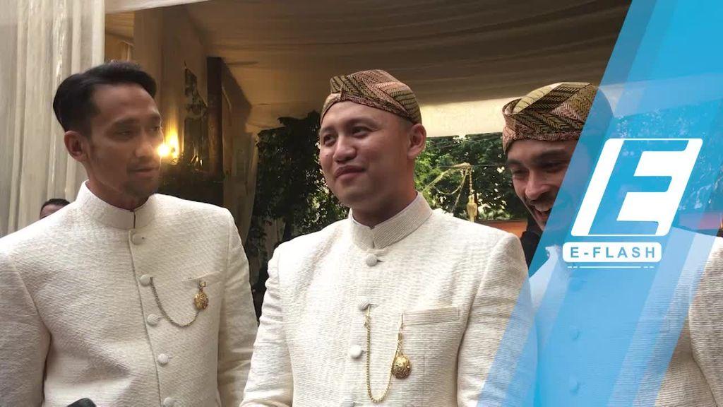 Tora Sudiro Jadi Saksi Pernikahan Moreno Soeprapto