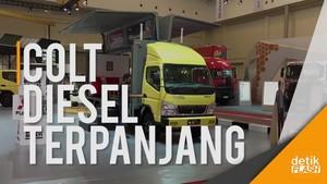 Mitsubishi Colt Diesel Terpanjang di Dunia Nangkring di GIIAS 2017