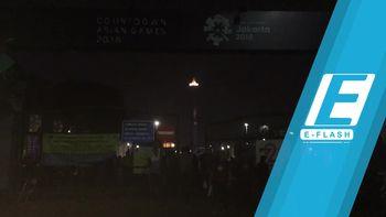 Konser Asian Games Sudah Dimulai, Penonton Terus Berdatangan