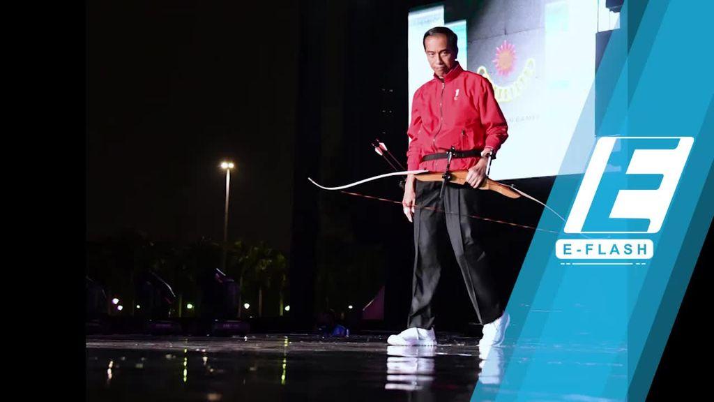 Bak Robin Hood, Jokowi Resmikan Setahun Menuju Asian Games 2018