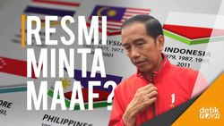 Presiden Jokowi Tunggu Permintaan Maaf Resmi dari Pemerintah Malaysia