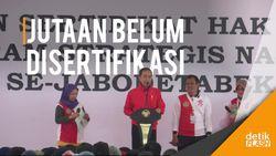 Jokowi Minta Percepat Bikin Sertifikat Tanah