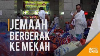 Jemaah Haji Bergeser dari Madinah ke Mekah
