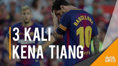 Trio MSN Bubar, Messi Tak Bisa Bikin Gol