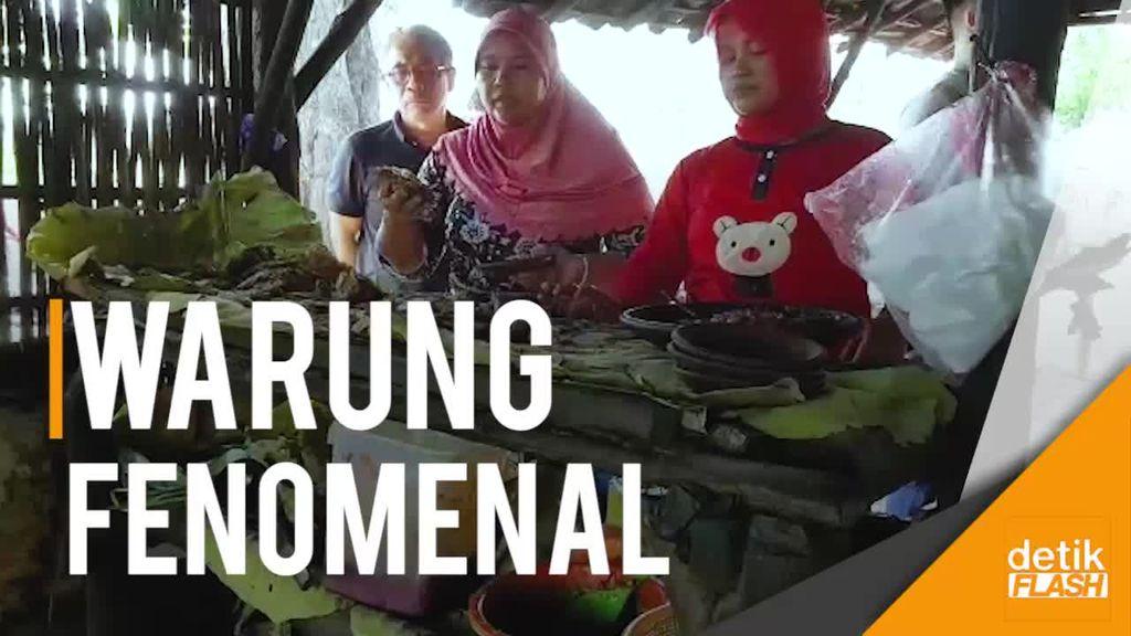 Melihat Warung Semok Mbak Sumi di Hutan Jati yang Fenomenal