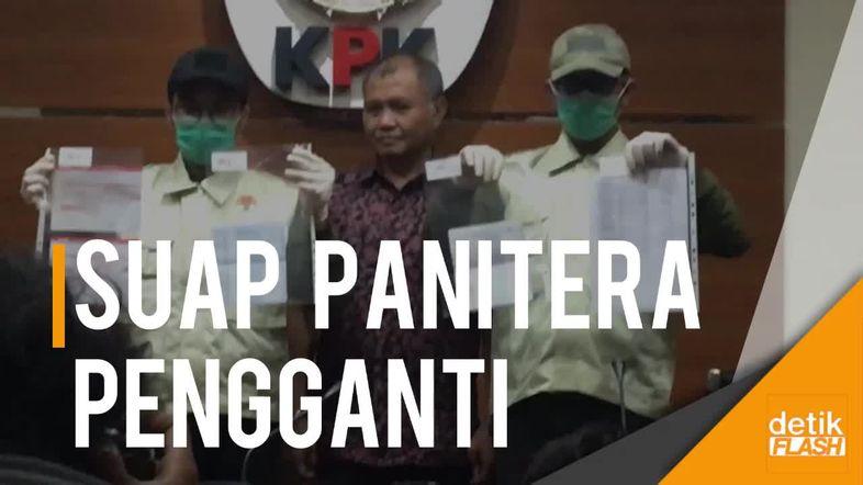 KPK Tetapkan 2 Tersangka Kasus Suap Panitera Pengganti PN Jaksel