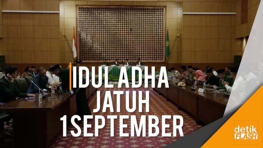 Pemerintah Tetapkan Idul Adha 1438 H Jatuh pada 1 September 2017