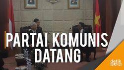 Saat Sekjen Partai Komunis Vietnam Blusukan ke Kompleks Parlemen