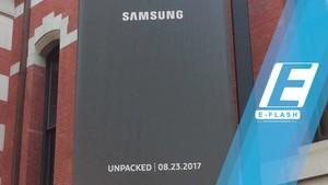 Detik-Detik Peluncuran Samsung Galaxy Note 8