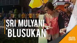 Ke Desa Ponggok, Menkeu Sri Mulyani Cek Realisasi Dana Desa