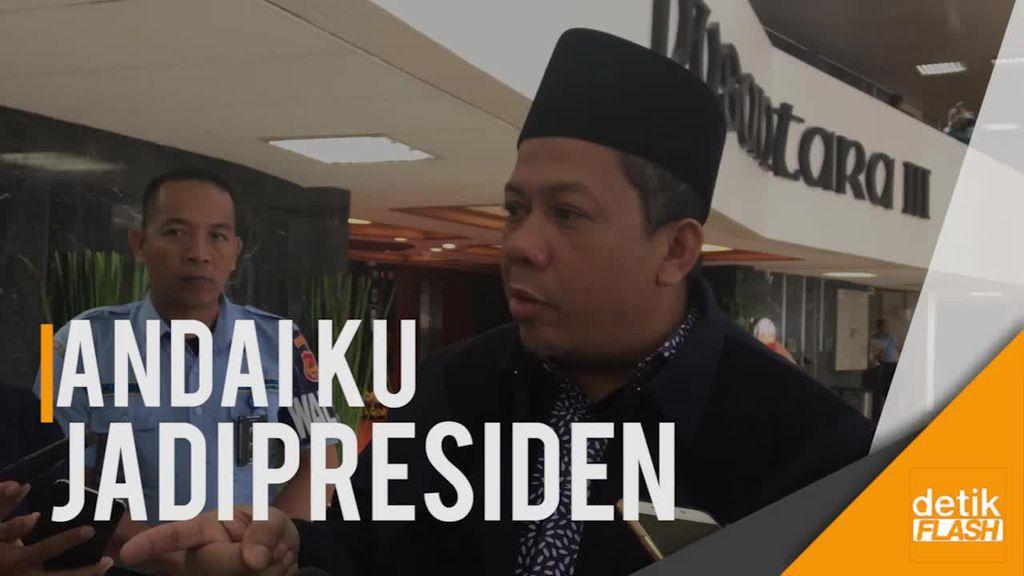 Fahri Hamzah: Kalau Saya Presiden, Saya Bikin Perppu KPK