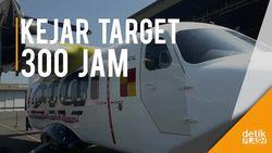 Uji Terbang Kedua Pesawat N219 Karya Anak Bangsa Sukses