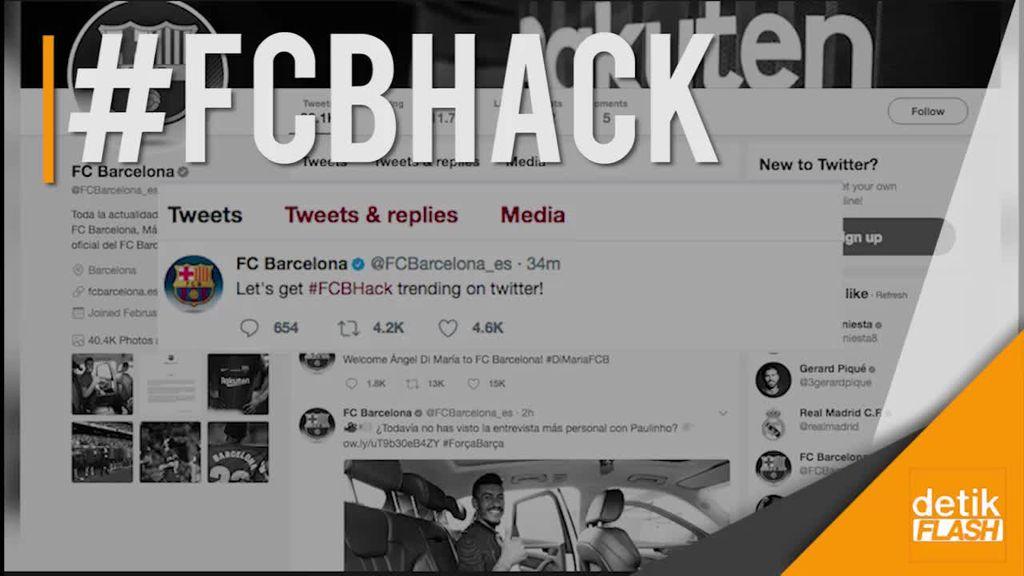 Media Sosial FC Barcelona Kena Hack