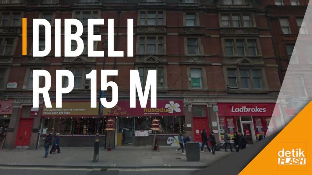 Berkunjung Via Google Maps ke Restoran Bos First Travel di London