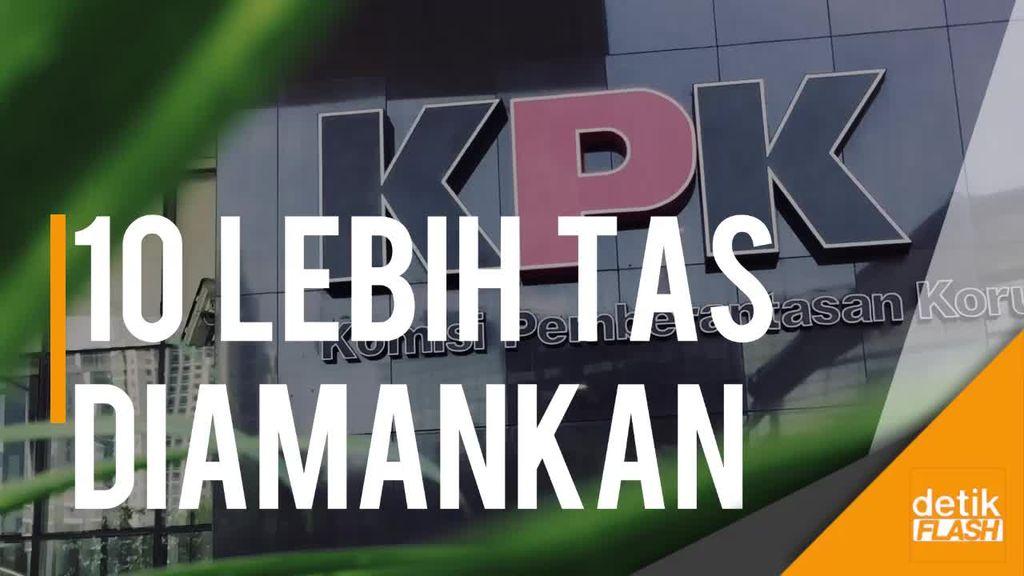 KPK Amankan 10 Lebih Tas Penuh Uang dalam OTT Kemenhub