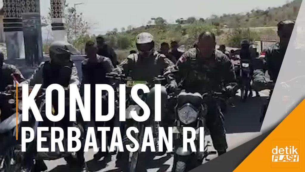 Melihat Kondisi Pos Perbatasan RI-Timor Leste di Desa Napan