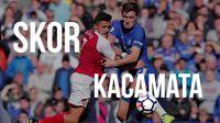 Pertahanan Arsenal Bikin Chelsea Frustrasi