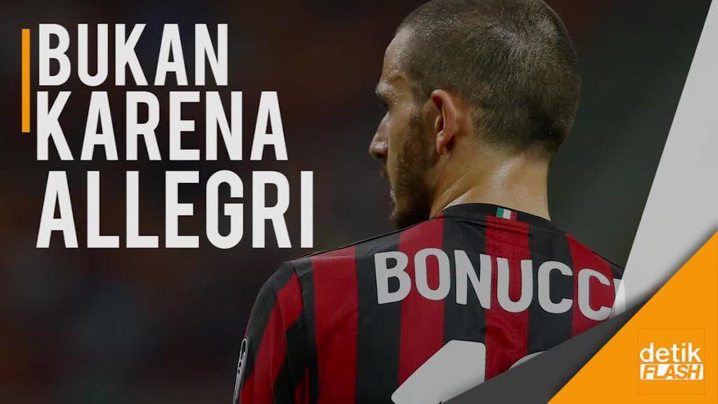 Ini Alasan Kepindahan Bonucci ke Milan Kata Sang Istri