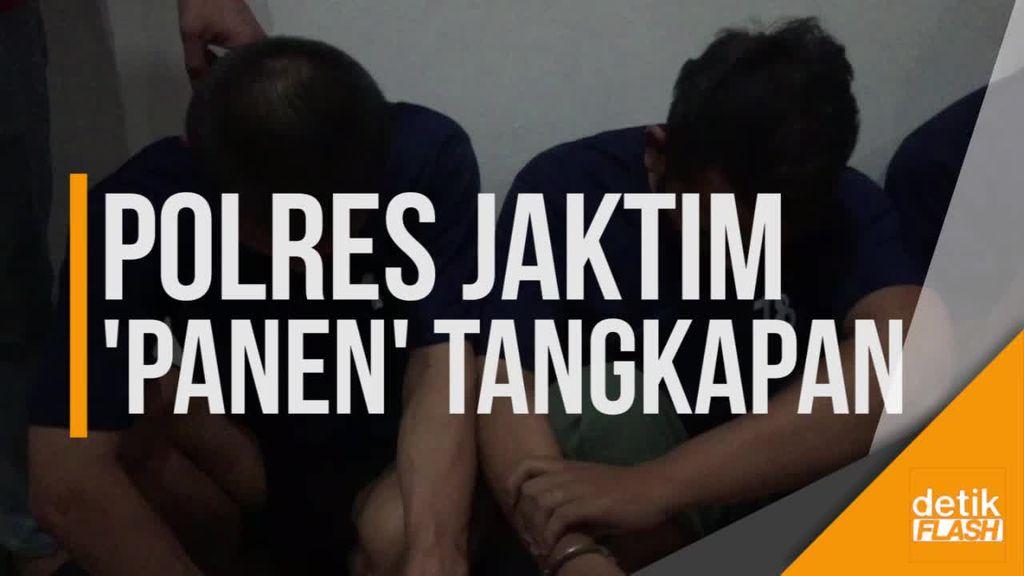 Dalam Seminggu, Polres Jakarta Timur Tangkap 16 Pelaku Kejahatan