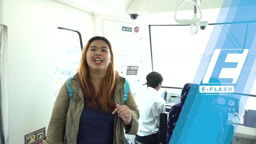 Mencoba Skytrain Bandara Soekarno-Hatta yang Lagi Nge-Hits
